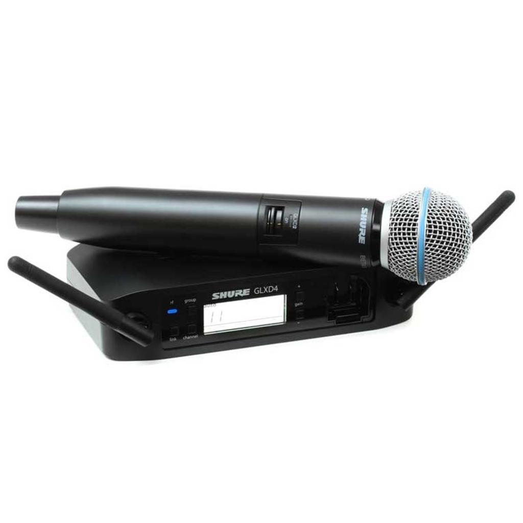 Shure GLXD4 Wireless System, Beta 58A